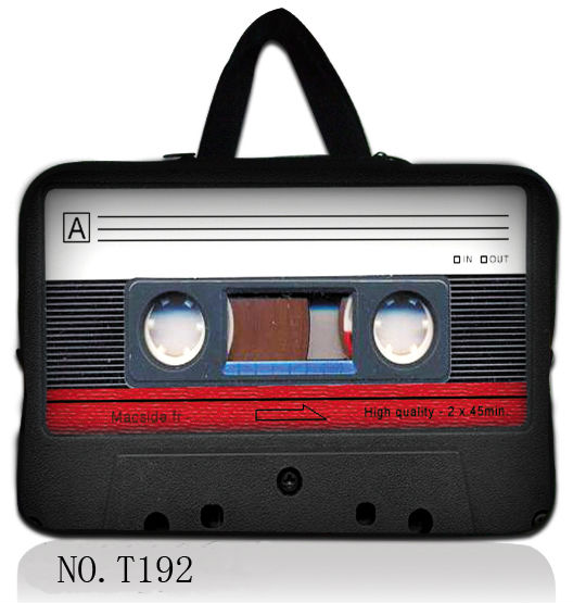 "cassette 10"" Laptop Sleeve Carrying Bag Case For ipad 2 For The New Ipad 3 3rd Ha"