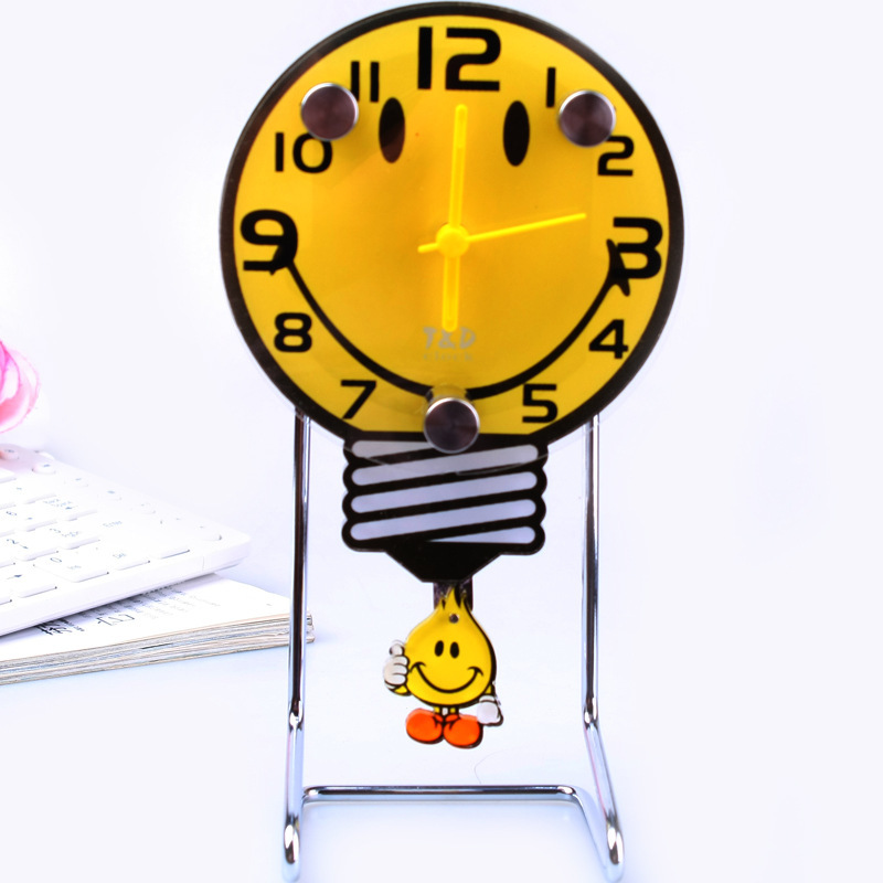 Supply cartoon swing table clock table clock watch wholesale cartoon table clock manufacturers, wholesale gifts wholesale 158051(China (Mainland))
