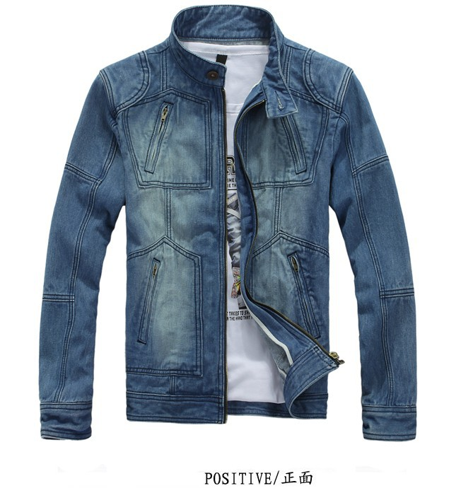 Men&#39;s Hoodie Jeans Jacket coat outerwear Winter coat hoodie denim jacket coat cowboy wear M L-XXL(China (Mainland))