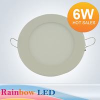 NEW free shipping 6W  Panel Light 2835LED (30pcs) AC85V~265C) 540lm