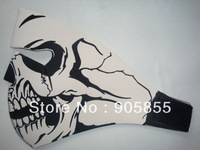 Neoprene full face mask skull skeleton free shipping China post mail