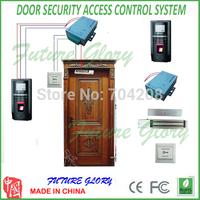 F20 kit Complete Door Access control system DIY Access Control Kit  Fingerprint  and ID card Door Access Control