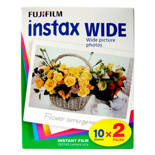 Fuji once imaging polaroid photo paper instax camera 210 picotee film wide 20(China (Mainland))