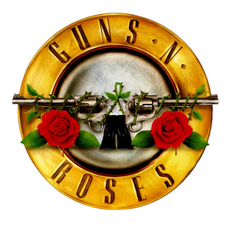 Guns n roses laptop stickers refrigerator stickers travel bag sticker with FREE SHIPMENT minimum order $10 in our Store(China (Mainland))