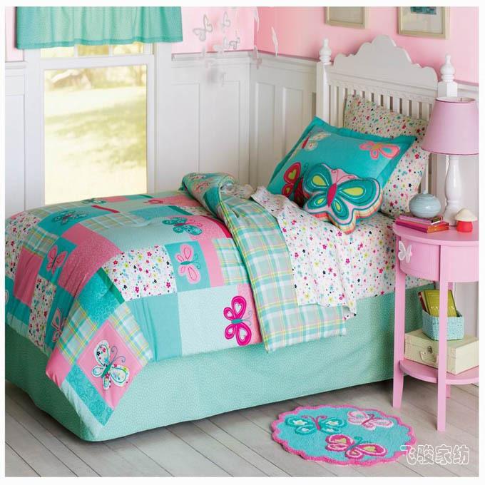 achetez en gros lit les filles couvre en ligne des. Black Bedroom Furniture Sets. Home Design Ideas