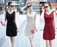Summer Women Ladies Sleeveless Geometric Print Bodycon Casual Dress Novelty Party Pencil Mini Vestidos