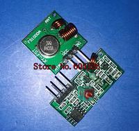 10pair/Lot =20pcs RF wireless receiver module & transmitter module board Ordinary super- regeneration 433Mhz DC5V