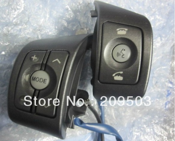 Toyota RAV4/Yaris High quality original Steering wheel Audio,channel and bluetooth control button(China (Mainland))