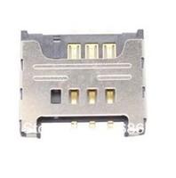 20PCS Free shipping Hot Sell SIM Card Slot for I8530 Galaxy Beam