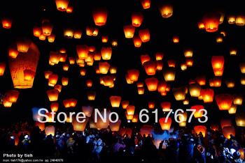 free shipping Sky Lanterns,Wishing Lantern fire balloon Chinese Kongming lantern Wishing Lamp for BI