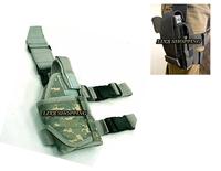 Tactical Drop Leg Pistol Holster ACU free ship