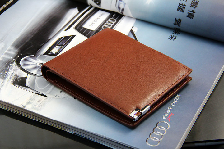 2013 men's fashion genuine leather wallet clutch bag brand soft wallet free shipping 1401(China (Mainland))