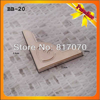 (BB-20) Hot sale factory made alloy accessories  metal package clips buckle for bags accessory