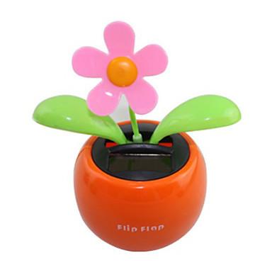 Solar Powered Flip Flap Flower Plant(China (Mainland))