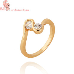Fashion jewelry Gilded castle crystal ring made with Swarovski element,noble,Top Quality 9k ring Kuniu J1107(China (Mainland))