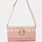 Free shipping! 2013 Fashion ladies&#39;/women&#39;s leisure handbags/messenger/shoulder bags, small day clutches/evenig bag for women(China (Mainland))