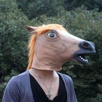 Fashion gangnam mask gangnam wigs mask dog horse mask eco-friendly latex costume