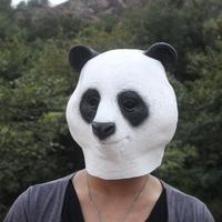 Panda head mask original giant panda mask wigs doll costume