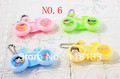 christmas gift color contact lense case for Freshlook color contact lens boxes/cases bicycle style(China (Mainland))