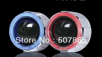 """2.5"""" GS11 12V 35W HID Bi-Xenon Projector Lens Kit  Angle Eyes and devil eyes"""