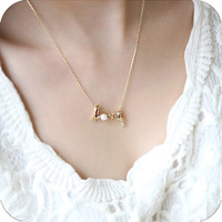 12pcs/lot 2014 hot Promotion fashion chic LOVE word necklace fashion necklace jewelry  A0046