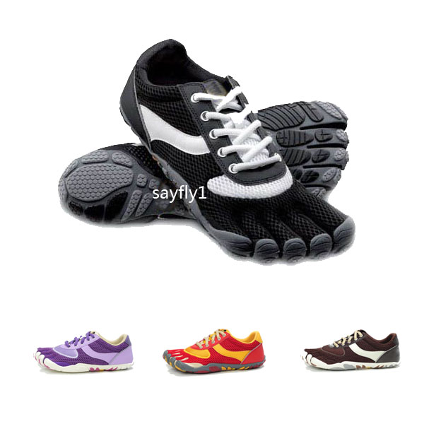 Toe shoes Men Women outdoor hiking running yoga lacing toe shoes(China (Mainland))