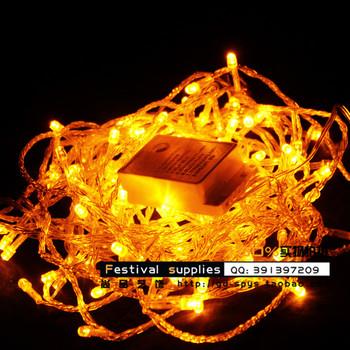 Christmas decoration lantern multicolour 20 meters lengthen led string light wedding supplies string light garden light flasher