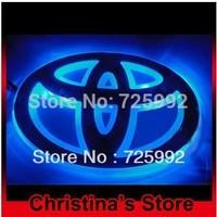 Free shipping car logo light for Toyota Series car decorative light car badge light auto emblem led lamp
