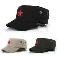 Cadet hats for men flat top cap 2013 popular socialist cadet hats for men snapback caps 4color 20pc free shipping