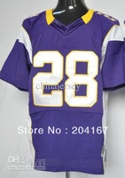 Sportswear # 28 purple elite game soccer jerseys drop shipping mix order mix order size40-56