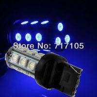 FreeShipping 10PCS  Turn light 18smd T20 18SMD LED BLUE Headlight Bulbs Light NEW Fog lamps Taillights Headlight