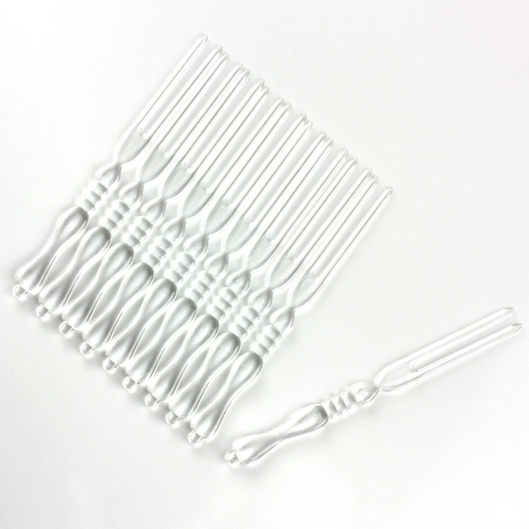 Free shipping, Disposable transparent plastic fruit fork bamboo fork 4000 box(China (Mainland))