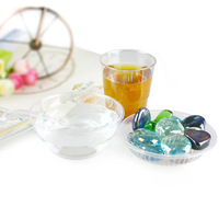 Free shipping, Disposable vip crystal tableware set aviation cup drinking cup plastic cup 32 pieces/lot