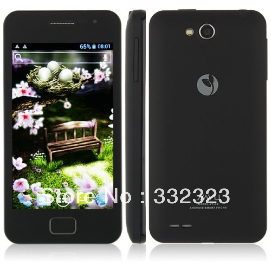 G2 MTK6577 Dual Core Android 4.0 1GB 4GB Dual Sim 3G GPS Smart Mobile Phone(China (Mainland))