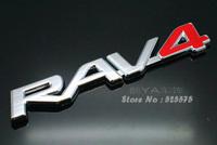 """Buy 2pcs - 20% OFF!!! Free Shipping Toyota """"Rav 4"""" Label Tuning Stylish Label Car Labels Car Logo"""