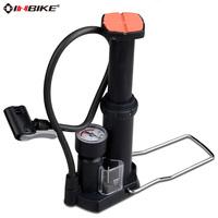 Foot portable high pressure bicycle pump high pressure air pump inflator for basketball, football, cycling