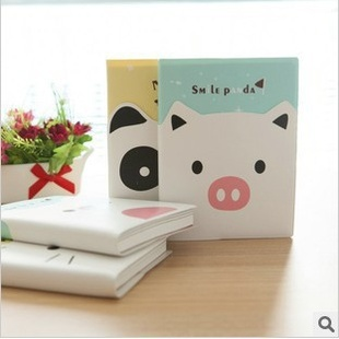 Stationery cartoon holsteins book notepad cute diary this notebook primary school students(China (Mainland))