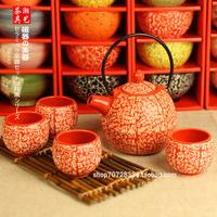 Set tea set endulge series of japanese style tea set wedding gifts supplies teapot cup gift box set