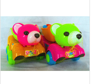 Child bear style beach toy car sand play water Large set thickening plastic(China (Mainland))