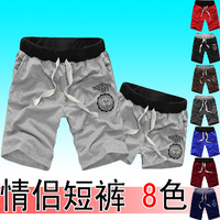 2013 summer shorts male harem pants plus size shorts lovers pants sports casual pants male