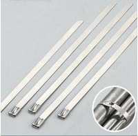100pc sstainless steel cable tie 4.6*150