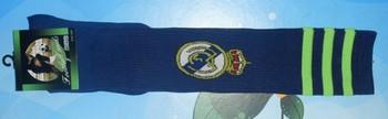 Real Madrid football socks socks sports socks new season Real Madrid Real Madrid football socks sapphire blue plain stitch