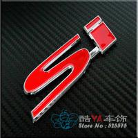 "Buy 2pcs - 20% OFF!!! Free Shipping ""Si"" Tuning Stylish Label Car Labels Car Logo"