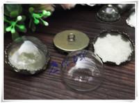 Free shipping! 20pcslot 20mm glass half globe / DIY Glass  bubble bottle vial pendant