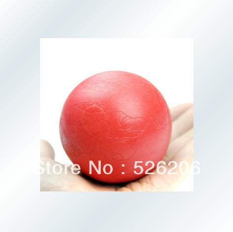 Free Shopping Dog solid elastic rubber ball odontoprisis supplies pet toy(China (Mainland))