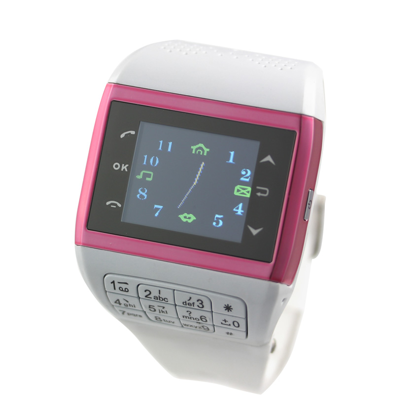Dahong 2013 inveted dual sim dual standby smart touch cell phone watch fashion table(China (Mainland))