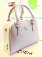 Leleshop 2013 elegant vintage handbag color block decoration box clip shoulder bag