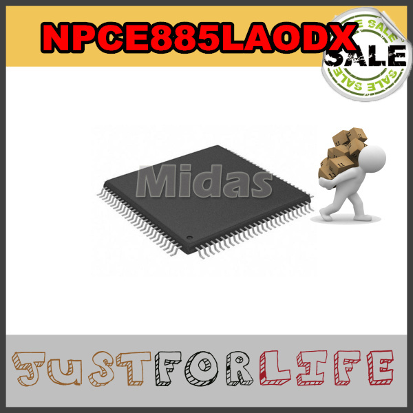 Free Shipping !!! NPCE885LAODX QFP Laptop IO Notebook Repair Component 100% Tested and High Quality WHOLESALE(China (Mainland))