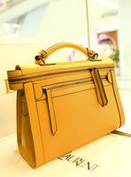 Leleshop 2013 new arrival high quality double zipper women's vintage shoulder bag handbag elegant handbag