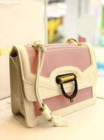 Leleshop 2013 new arrival vintage tassel caltha one shoulder women's handbag messenger bag